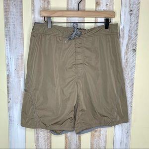 AIGLE Tan Mens Board Shorts L